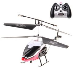 2 Channel Infrared Remote Control R/C Helicopter White