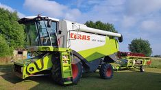 Claas Lexion 540C Combine Harvester, Harvest Time, Commercial Vehicle, Work Lights, Vehicles, Euro, Tractors, Car, Vehicle