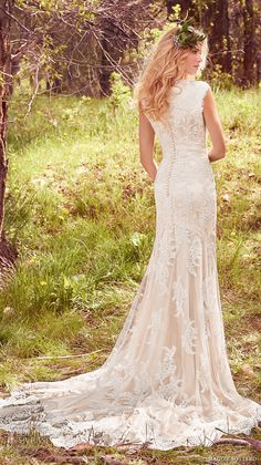 """736cc1f200516 Maggie Sottero Spring 2017 Wedding Dresses — """"Avery"""" Bridal Collection"""