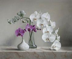 Flower MPieter Wageman (Bélgica, 1948- ).asterpieces by Pieter Wagemans