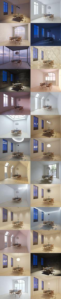 Vray Interior Lighting / VISCORBEL