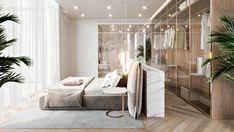 Home Interior Plants Ardh Residential Villa Luxury Bedroom Design, Master Bedroom Design, Home Decor Bedroom, Modern Bedroom, Modern Interior, Home Interior Design, Interior Plants, Suites, Luxurious Bedrooms