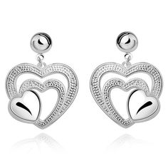 Reliable Hot Female Models 925 Sterling Silver Earrings Hollow Pear Pendant Design Solid Silver Earrings Not Allergic Jewelry Ol Style Jewelry & Accessories