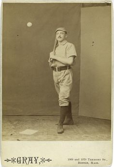 strange funny vintage baseball photos from the 1800s (9)