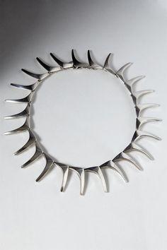 Necklace, designed by A. Michelsen, Denmark. 1950's. — Modernity