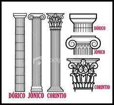 Admirable Find A Career In Architecture Ideas Architectural Drawing Greek columns Architecture Concept Drawings, Roman Architecture, Classic Architecture, Historical Architecture, Architecture Details, Architecture Career, Greek Pattern, Classical Period, Roman Art