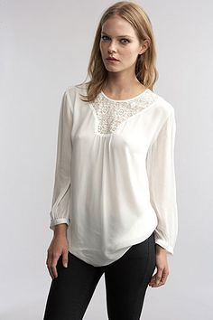 Cleopatra Chiffon With Lace Blouse by Velvet