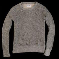 Great Sweat 50s in Black Grey Melange