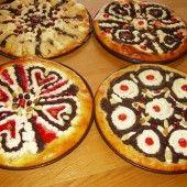 Tento recept som objavila v časopise Rytmus života. Naan Flatbread, Czech Recipes, Mocca, Winter Food, Pancakes, Food And Drink, Pie, Vegan, Cookies
