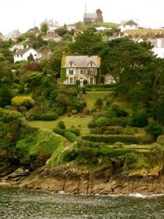 Incredible garden - Fowey, Cornwall, England - talk about appreciating the land in which you live Cornwall England, Devon And Cornwall, Fowey Cornwall, England Ireland, England And Scotland, England Uk, English Countryside, British Isles, Highlands