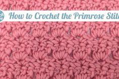 new stitch a day: crochet videos