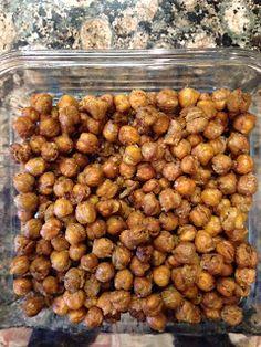 Omg, these sound amazing! Garlic Roasted Chickpeas
