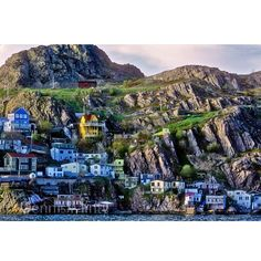 The Battery - St. John's, capital city of the province of Newfoundland and Labrador, Canada Newfoundland Canada, Newfoundland And Labrador, Oh The Places You'll Go, Places To Travel, Places To Visit, Travel Destinations, Disney Magic, Beautiful Islands, Beautiful Places
