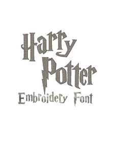 INSTANT Download  Harry Potter inspired by Institchesembroidery, $3.00