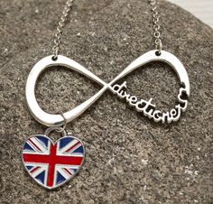 Forever a Directioner One Direction necklace by HarmonyAndBliss, $24.00