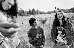 The first picture of Nirvana as a band