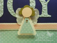Stampin' Up!  Pennant Punch  Debbie Henderson  Angel