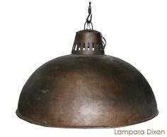 Lámpara estilo industrial www.artglobale.com
