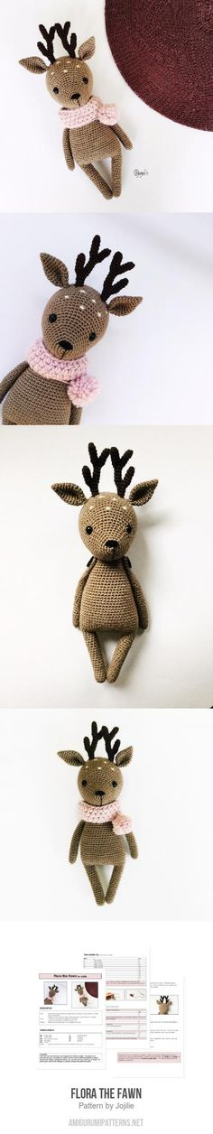 Flora The Fawn Amigurumi Pattern