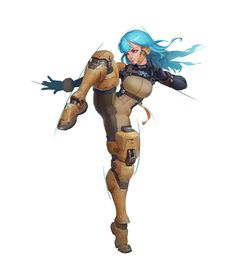 high kick poses female character design 涂, T zzzzz Female Character Design, Character Design References, Character Drawing, Character Design Inspiration, Character Illustration, 3d Character, Character Concept Art, Animation, Cyberpunk Art