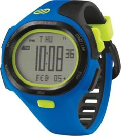 P.R. Med Blue/black/electric Green - Watches | Designer Accessories at StyleSale.com