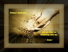 Only Jesus can wash away sin ...