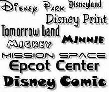 Disney Scrapbook Freebies and Downloads