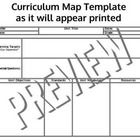 Common Core Standards Aligned Curriculum Map Templates Includes 2 Template Formats   This file includes 2 single page PDF Curriculum Templates. The...