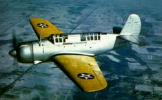 Photo: This Day in Aviation History December 1940 First flight of the Curtiss Helldiver. Navy Aircraft, Ww2 Aircraft, Aircraft Carrier, Military Aircraft, Pilot, Flying Boat, Vintage Airplanes, World War Two, Wwii