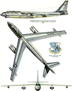 Boeing B-47 Stratojet | USA | 301st BW, USAF | B-47E-25-DT | 52-0154
