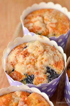 There is nothing better than a low syn cake to enjoy with a cuppa, and these moist delicious Blueberry Muffins are the perfect treat. Slimming World Carrot Cake, Slimming World Muffins, Slimming World Deserts, Slimming World Soup Recipes, Low Syn Cakes, Slimming Eats, Healthy Baking, Healthy Food, Healthy Treats