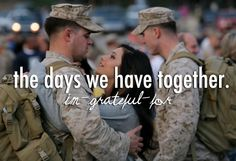 Something only a military wife/fiance/girlfriend will truly understand <3