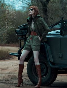 visual optimism; fashion editorials, shows, campaigns & more!: out of africa: thairine garcia by gui paganini for harper's bazaar brasil oct...