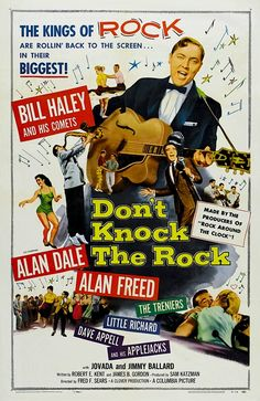 """DON'T KNOCK THE ROCK 1956  movie on DVD. Complete film, other versions cut Little Richard's performance of, """"Long Tall Sally."""" A rock and roll star returns to his hometown to find that rock and roll has been banned by disapproving adults who say """"rock and roll is for morons!"""" This is the film that introduced Little Richard to a mass audience."""