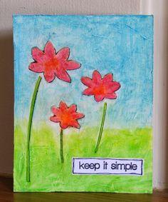 Scrap Savvy Creations: Keep it Simple