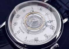 Haldimann H1 central tourbillon watch