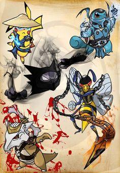 scorpion - MORTAL KOMBAT RP Fan Art (30915589) - Fanpop