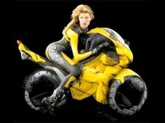 See what you can do with human body!.....body painting ilusions http://bit.ly/bodyarts1