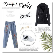 """Rosegal 24"" by nedim-848 ❤ liked on Polyvore featuring H&M and GUESS"