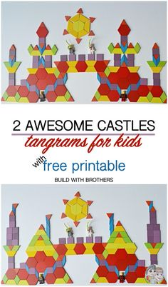 Hi friends, DIY castle puzzles using tangrams is so much fun. Making jigsaw puzzles using pre-printed images are good for memory and focus. But making your own puzzles is not only good for memory but builds up innovating habits at…