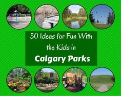 50 Ideas for Fun with Kids in Calgary Parks (or any park! Spray Park, Family Activities, Calgary, Cool Kids, Playground, Parks, 50th, Places To Go