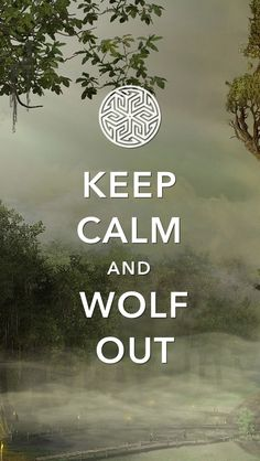 I was that here we could RolePlay as well, so could you all pin your RolePlay character and their wolf out form.