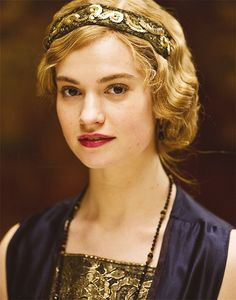 Lily James?