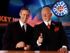 Hockey Night In Canada-Saturday night tradition on CBC. After the period former Boston Bruins coach Don Cherry will be on. Started On Radio CNR in 1931 and moved to television in 1952 where it still runs. I Am Canadian, Canadian Girls, Canadian History, Canadian People, Don Cherry, Bobby Orr, Hockey Memes, Canada Eh, Vancouver Canucks