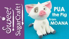 See how to make Moana's cute pet pig Pua as a fondant cake topper, for your Moana party!! SUBSCRIBE to my YouTube channel youtube.com/sweetsugarcraft to be sure not to miss, how to make the next Sweet(!) cake topper! Psst it's Baby Moana!! For...