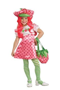 Rubies Strawberry Shortcake Deluxe Toddler Costume As Shown  Small >>> Continue to the product at the image link-affiliate link.