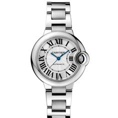 Ballon Bleu de Cartier watch, 33 mm - THIS IS THE ONE I WANTED...LOOKS LIKE THE RIM HAS A CONTOUR OR INDENTATION.