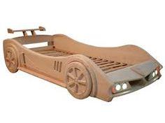 Imagen relacionada Car Furniture, Brown Furniture, Bedroom Furniture, Toddler Floor Bed, Toddler Rooms, Kids Room Design, Bed Design, Kids Car Bed, Kids Bed Frames