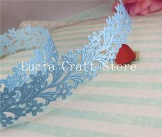 Approx 35mm Flower Ribbon Sewing Craft Lace Trim Embellishment DIY Garment & Home Decoration 2 yards 040051045