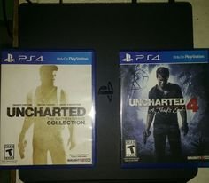 [Image] [Uncharted Series] Got Uncharted 1 2 3 4 as gift from a friend. Let's see what this fuss is about. #Playstation4 #PS4 #Sony #videogames #playstation #gamer #games #gaming